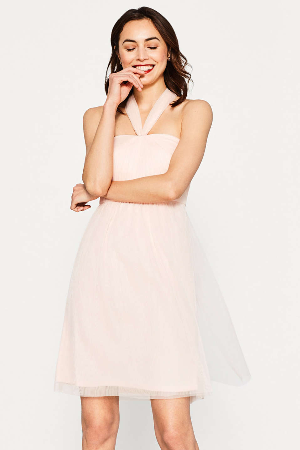 Delicate tulle dress in a versatile look