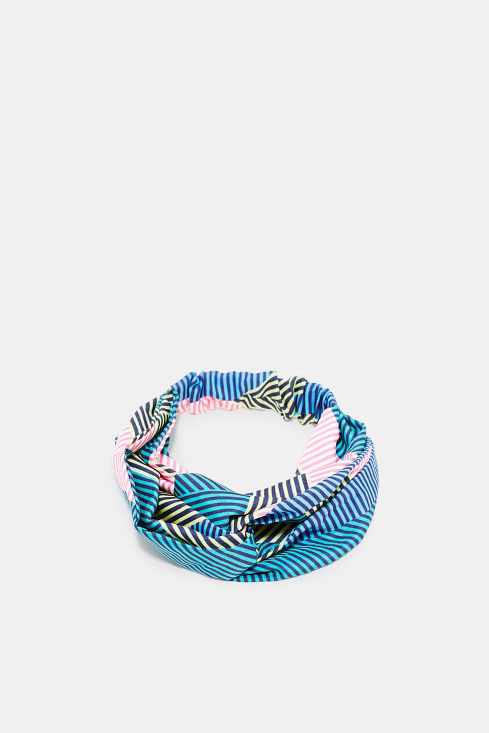 edc - Headband with knot details and colourful stripes