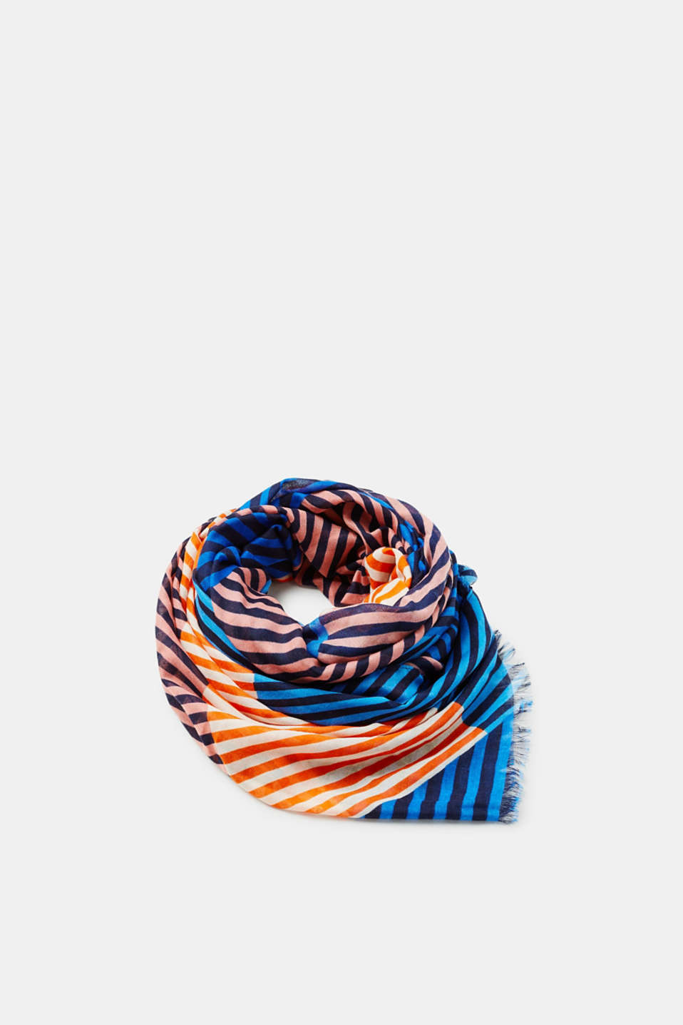 edc - Fine scarf with colourful stripes