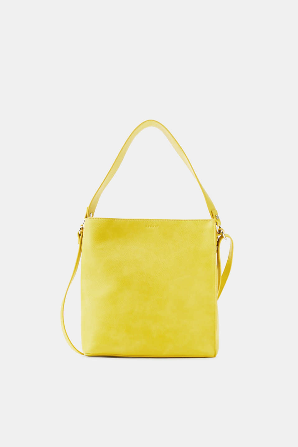 Esprit - Shoulder bag in grained faux leather