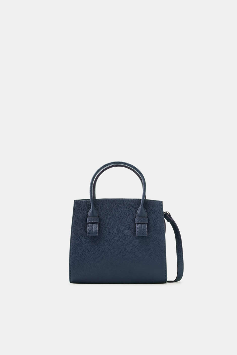 Esprit - City Bag in fein genarbter Leder-Optik