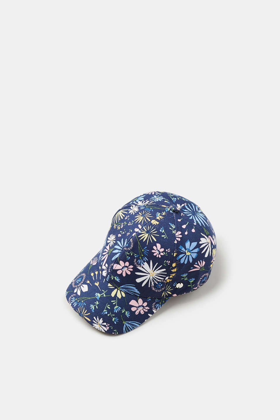 Esprit - Light baseball cap with all-over floral print