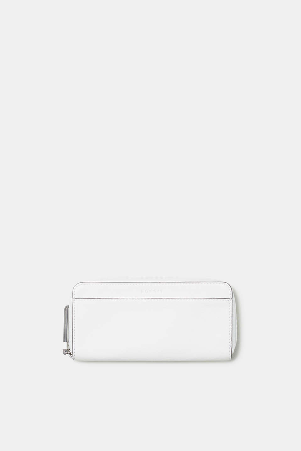 Esprit - Wallet in smooth faux leather