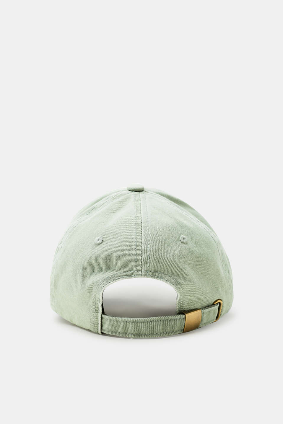 Canvas baseball cap with a subtle garment-washed effect