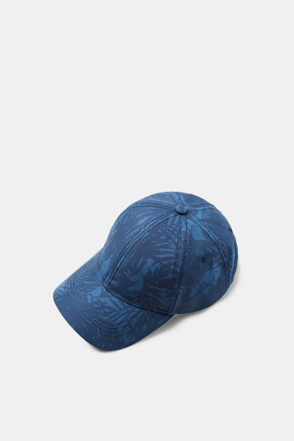Esprit - Baseball cap with a tropical floral print