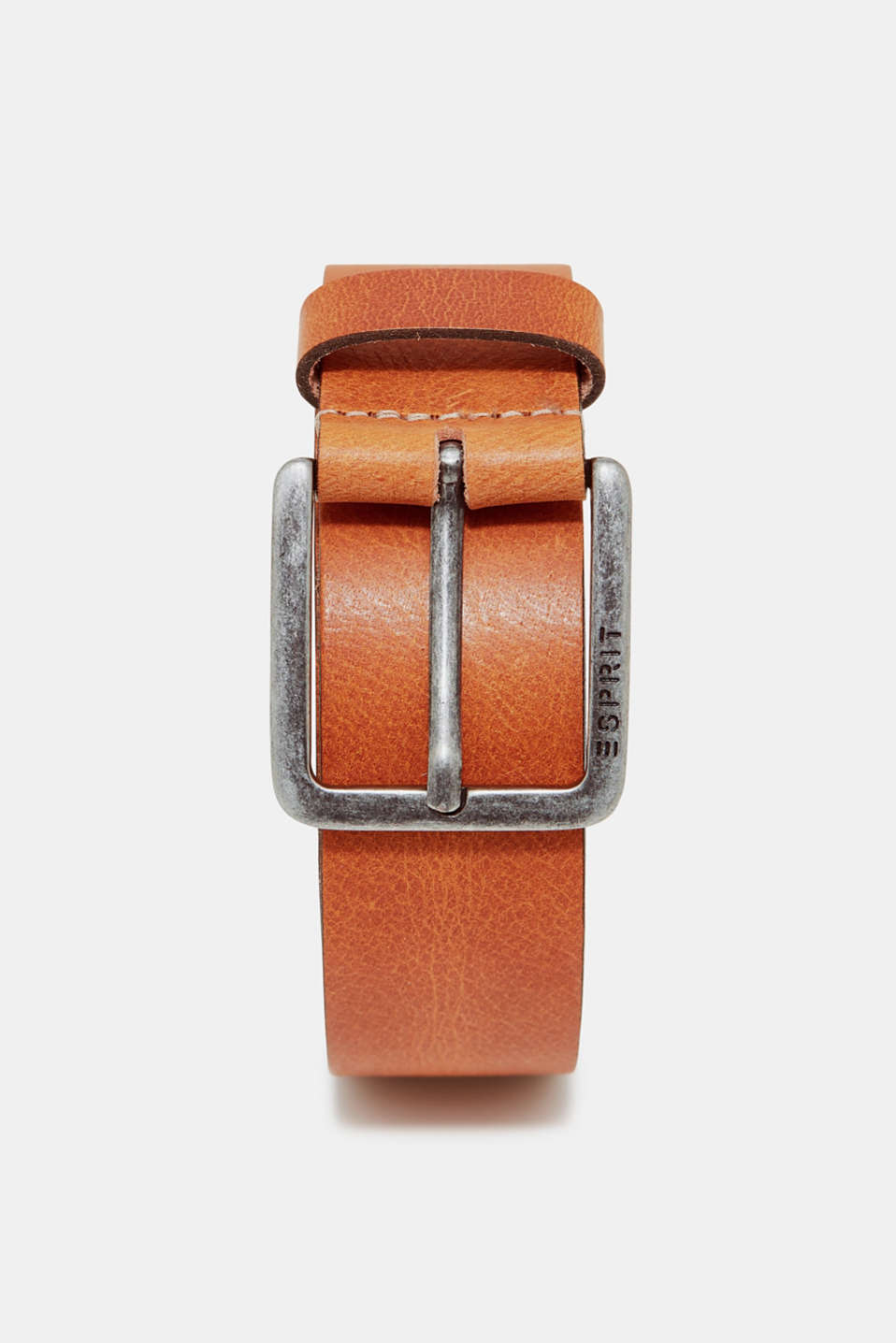 Esprit - Belt in robust buffalo leather