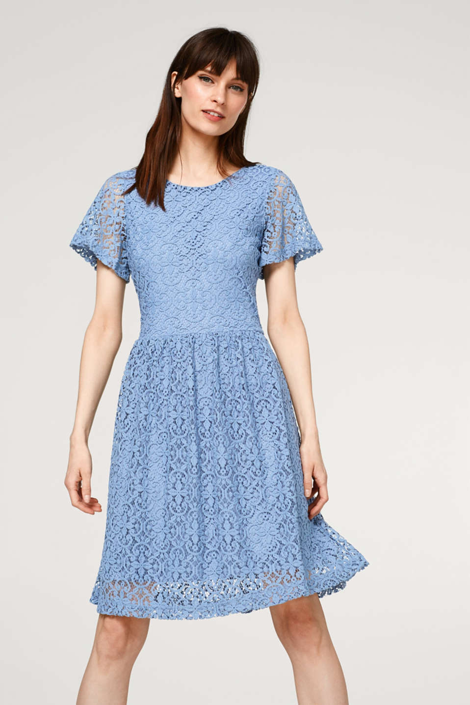 Esprit - Airy dress made of soft lace
