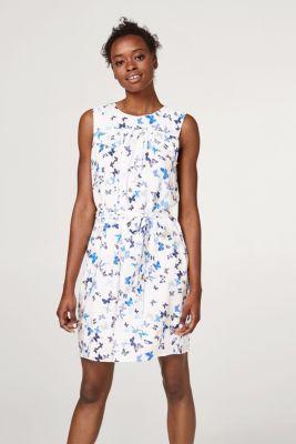 ... Kleid mit Schmetterlings-Print und Bindegürtel. spv-main-image-thumb-alt 0254be5702