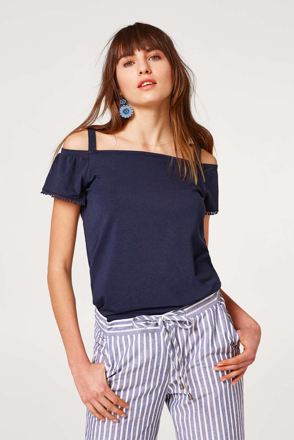 Esprit - Stretchy top in a new Carmen look