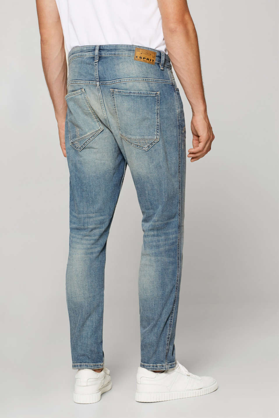 Stretch jeans with a slight vintage effect
