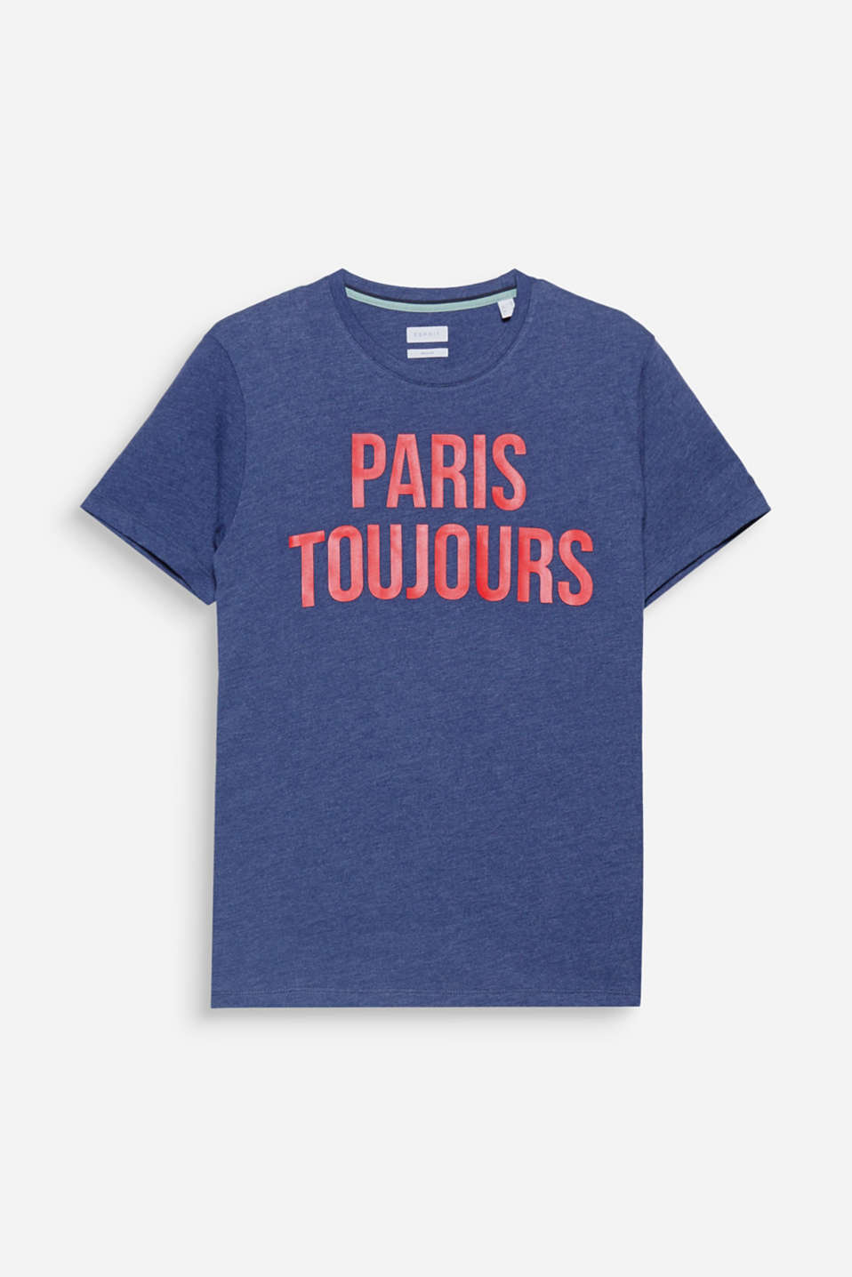 Paris toujours! One statement, one print on this t-shirt in melange jersey.