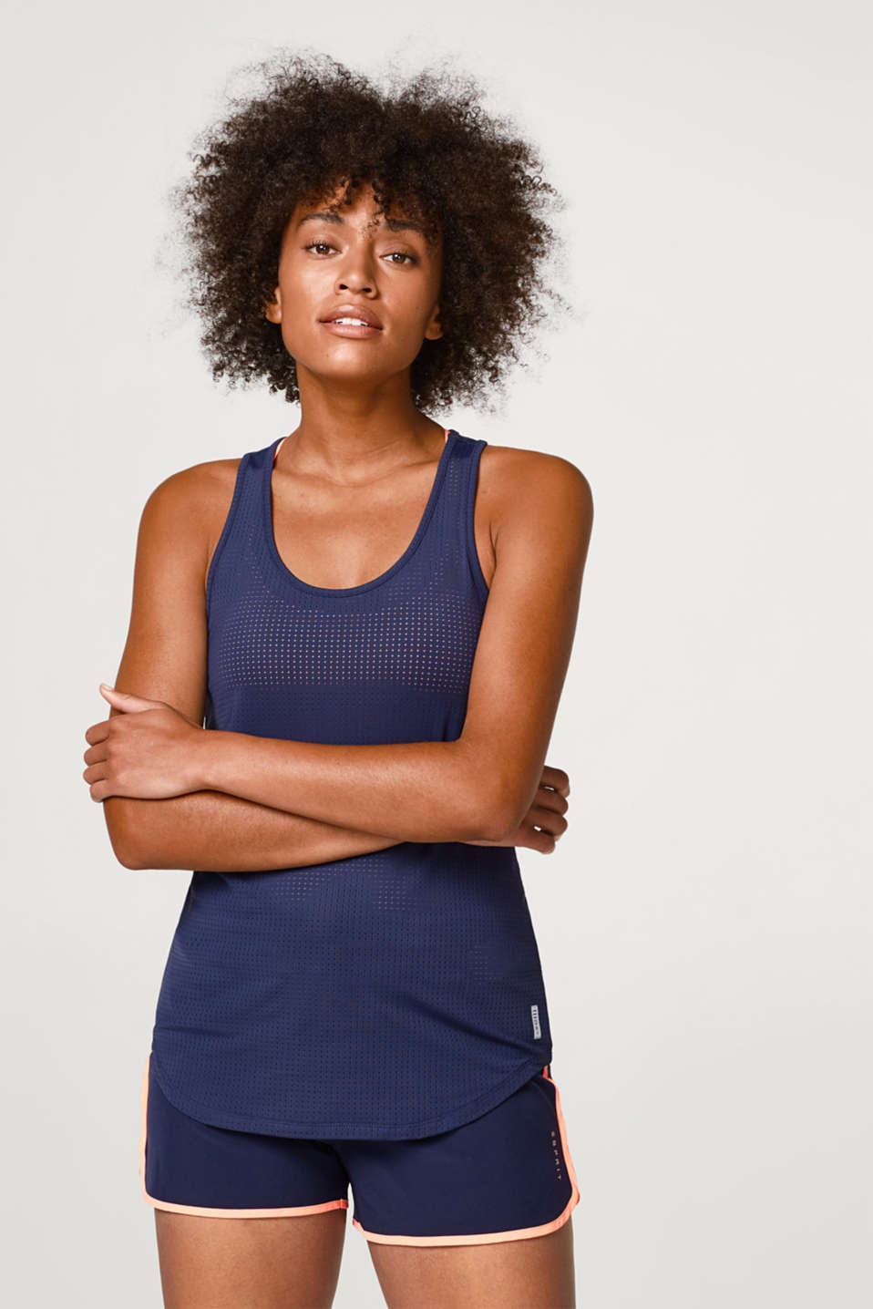 Esprit - Active top met lasercut, E-DRY