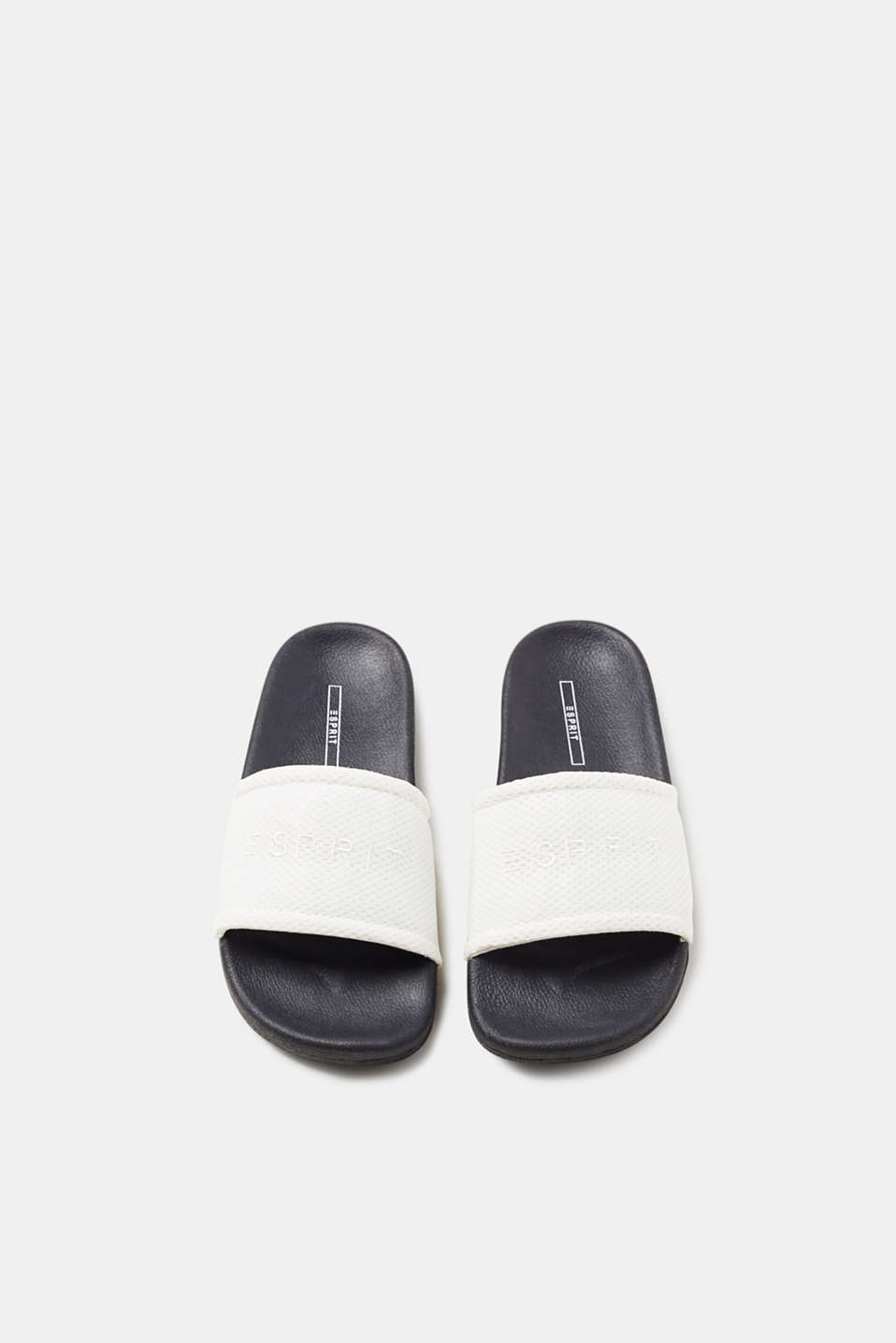Slip-ons with mesh straps