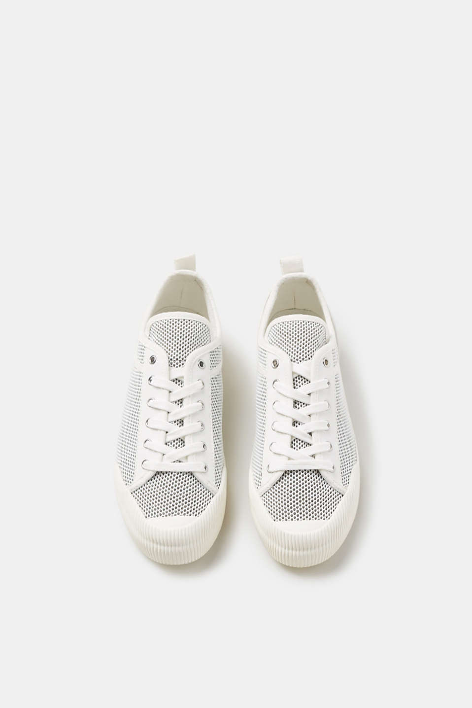 Modieuze mesh sneakers