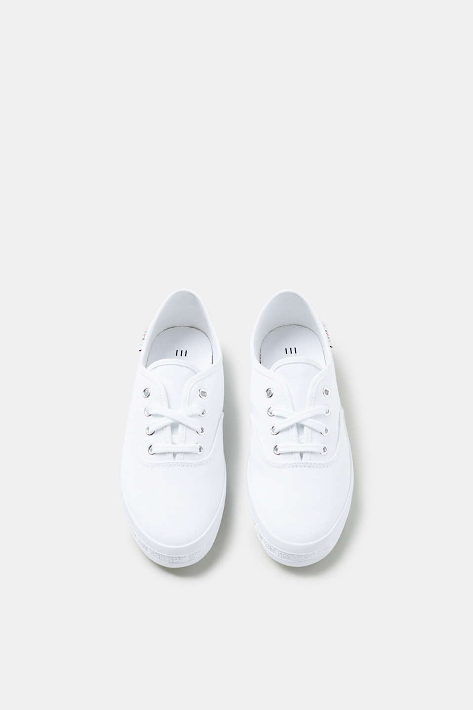 Timeless canvas trainers in cotton