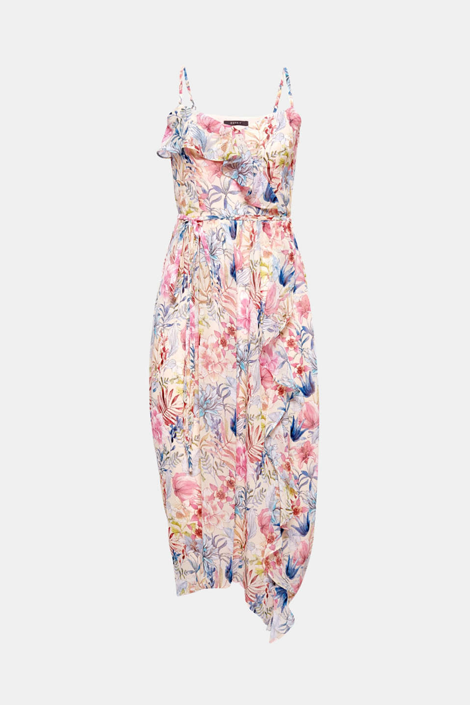 Whether as part of a casual style or stylish and classic, in this striking maxi dress with a floral print, you will exude elegance and a romantic flair at every party.