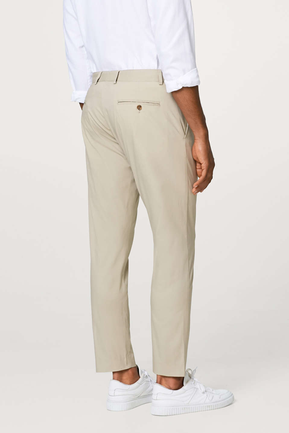 BEIGE SUMMER mix + match: stretchy suit trousers