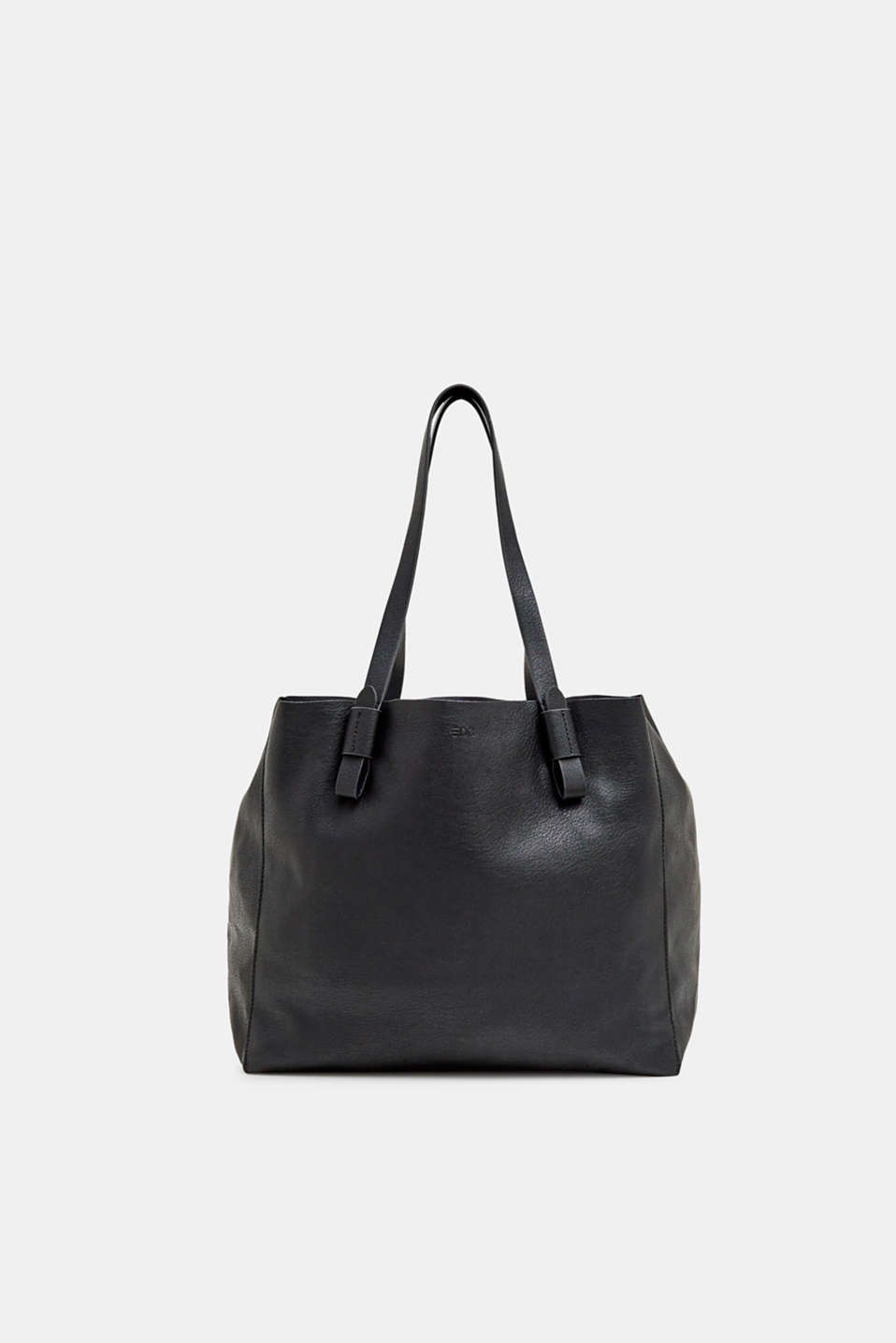 edc - Faux leather shopper