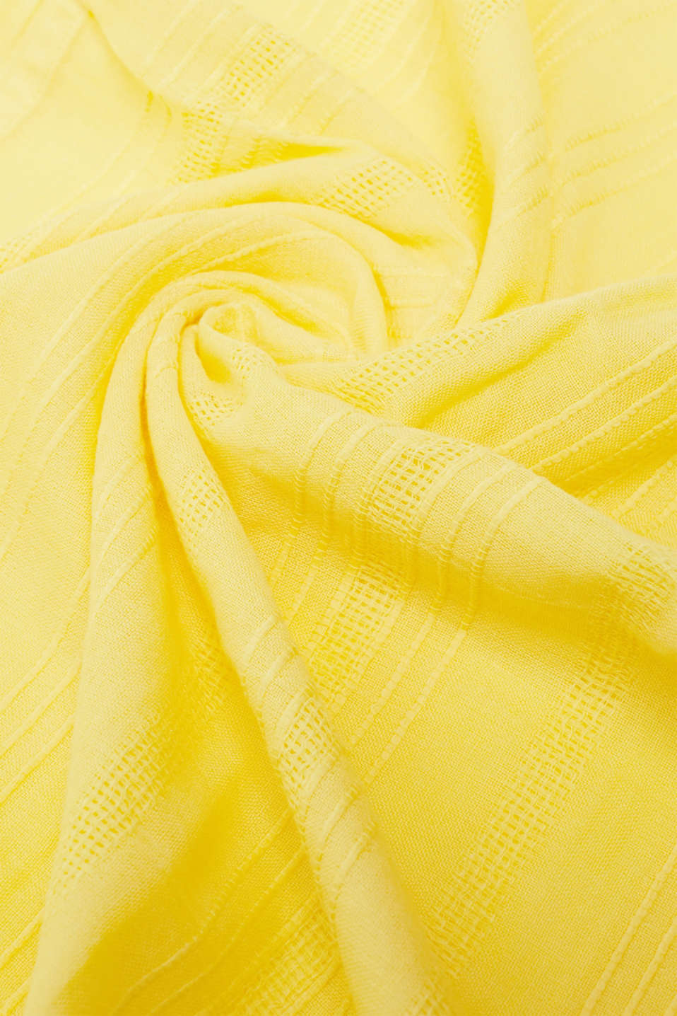 Shawls/Scarves, BRIGHT YELLOW, detail image number 2