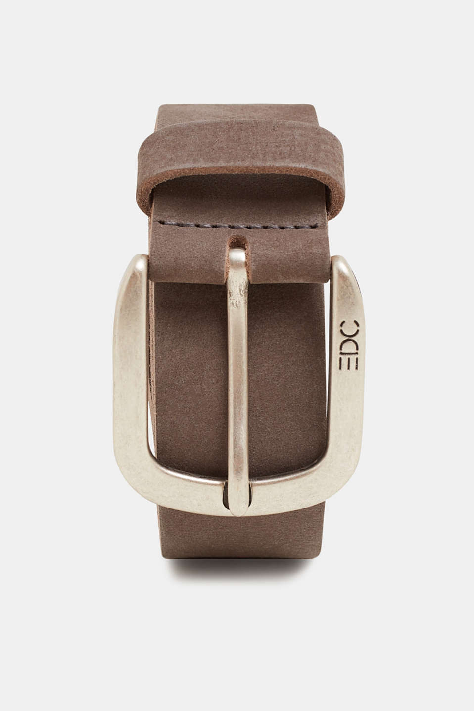 edc - Wide belt made of nubuck leather