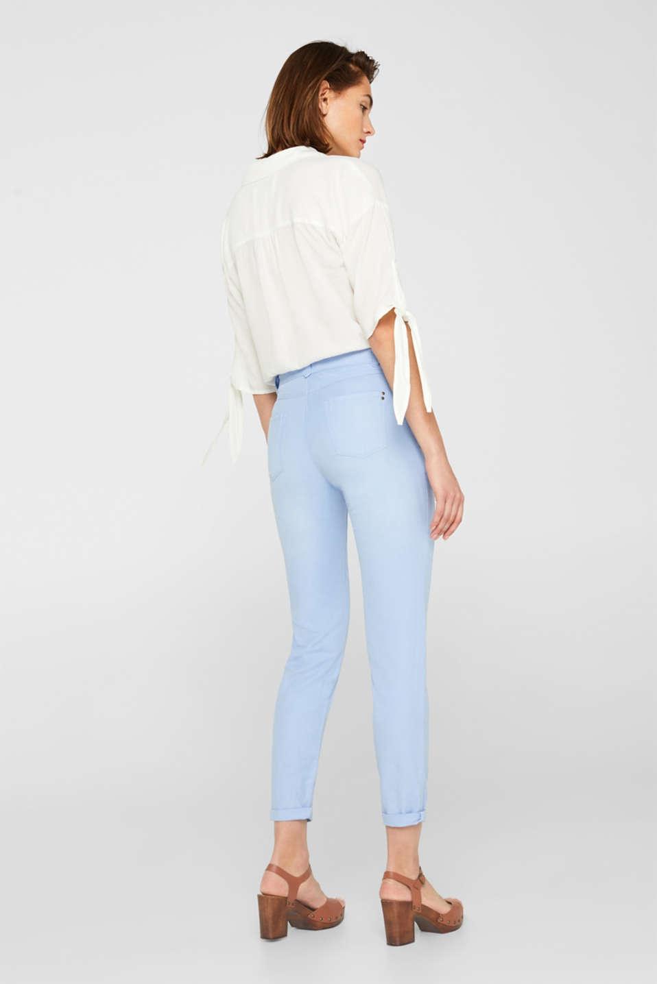 Pants woven, LIGHT BLUE, detail image number 3