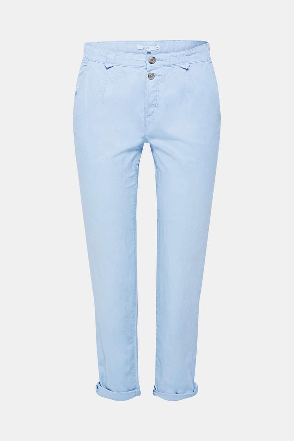 Pants woven, LIGHT BLUE, detail image number 6