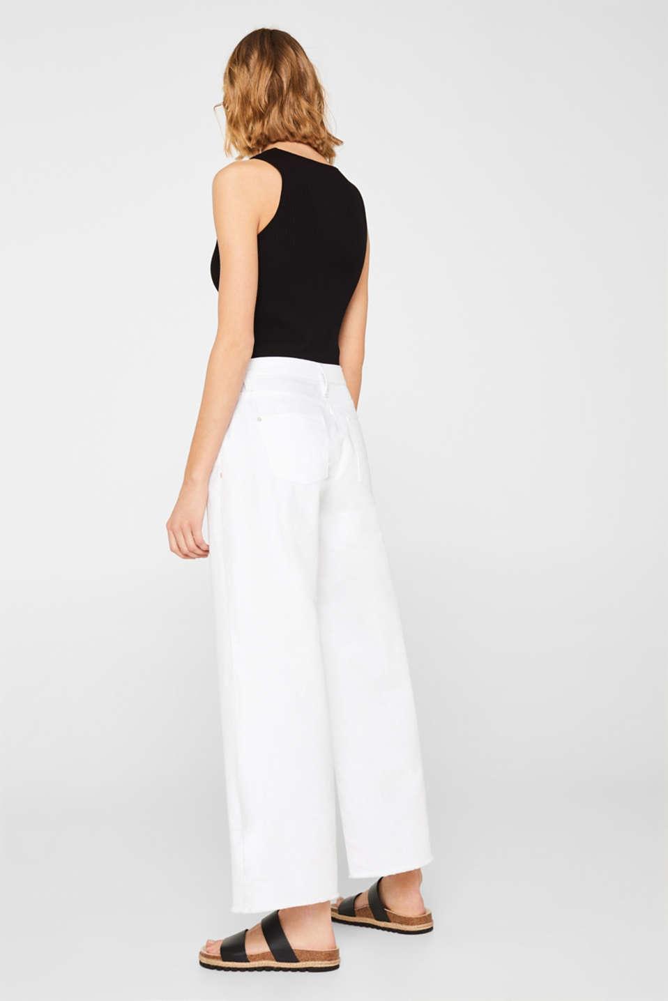 Pants denim, WHITE, detail image number 3