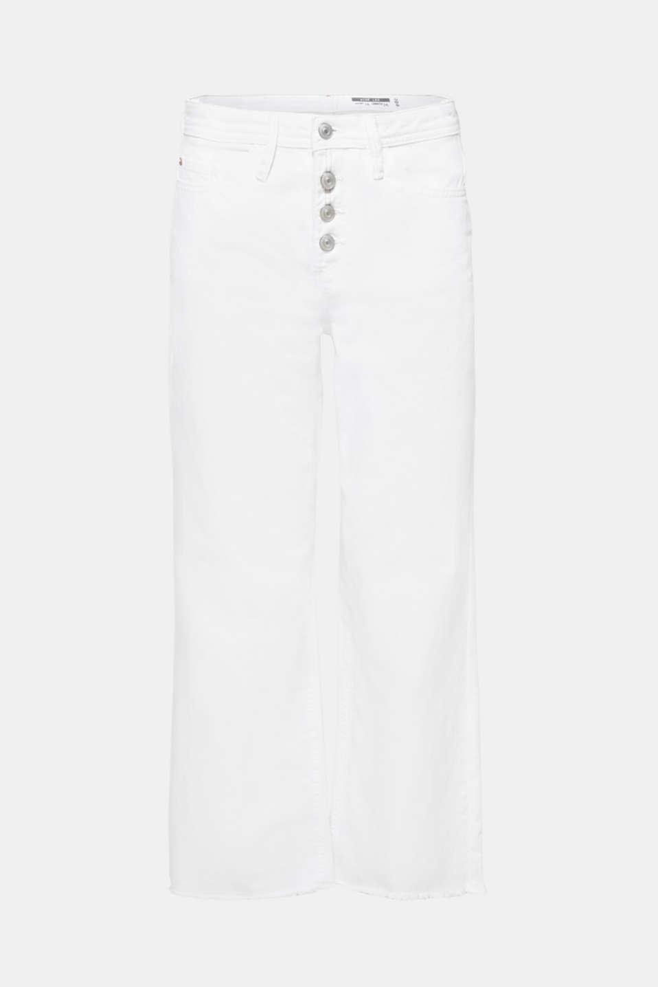 Pants denim, WHITE, detail image number 9