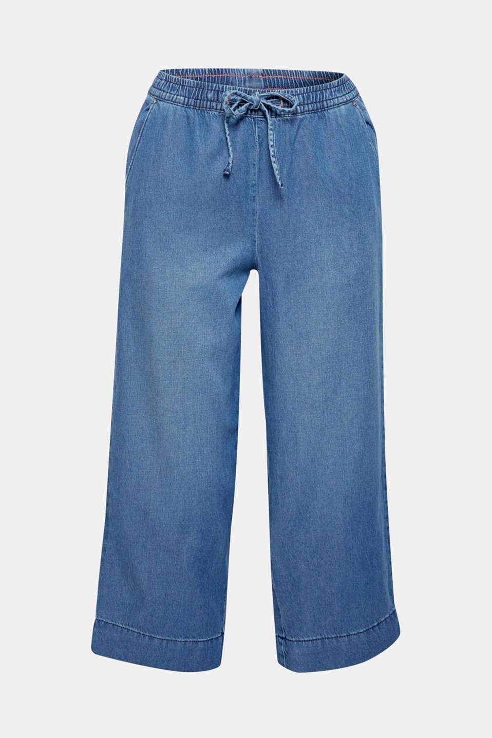 Pants denim, BLUE LIGHT WASH, detail image number 6