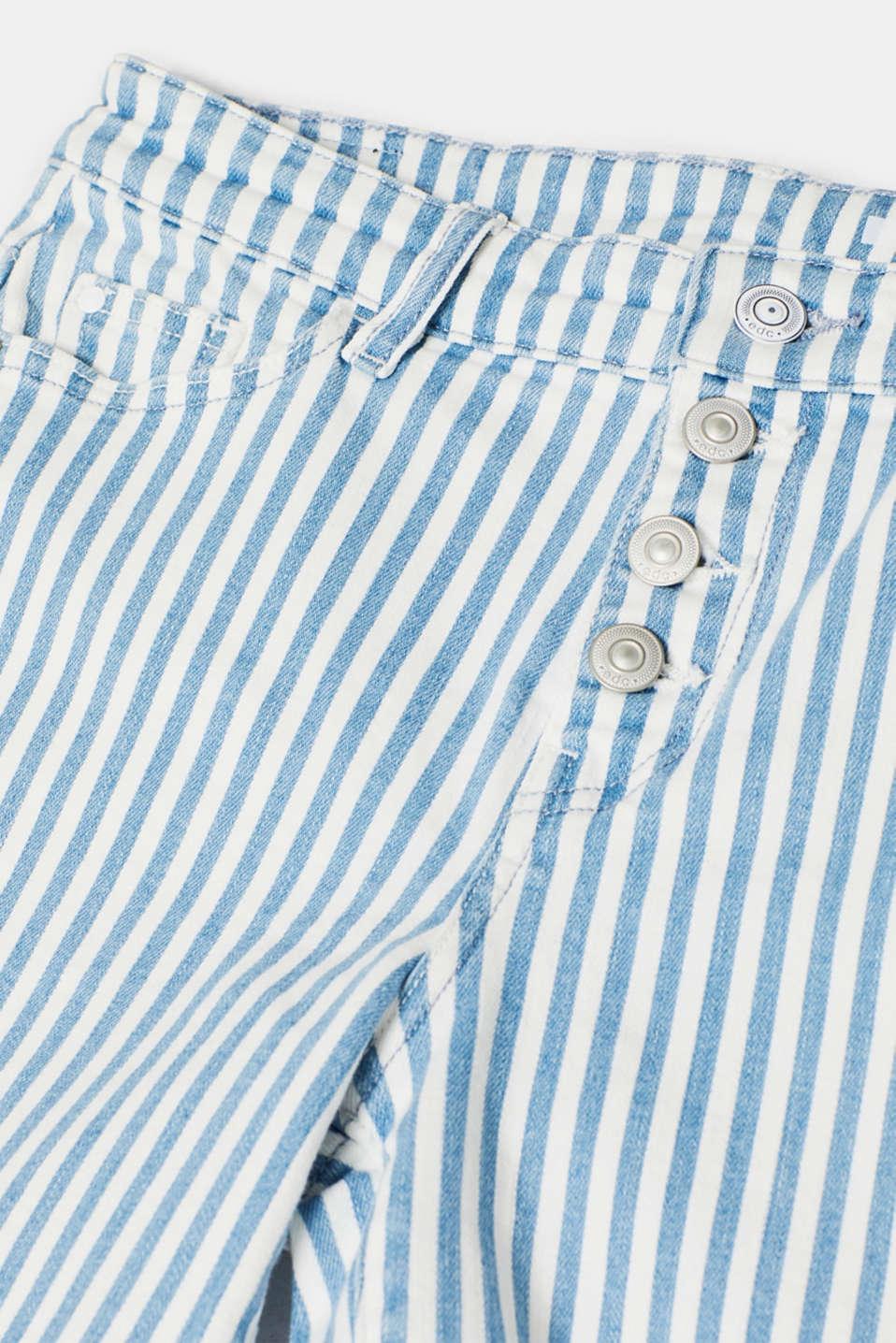 Shorts denim, BLUE LIGHT WASH, detail image number 4