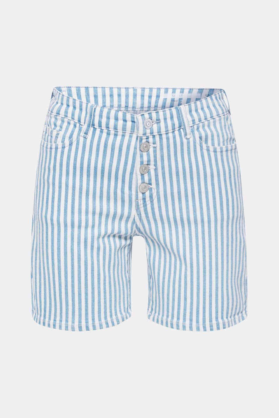 Shorts denim, BLUE LIGHT WASH, detail image number 7