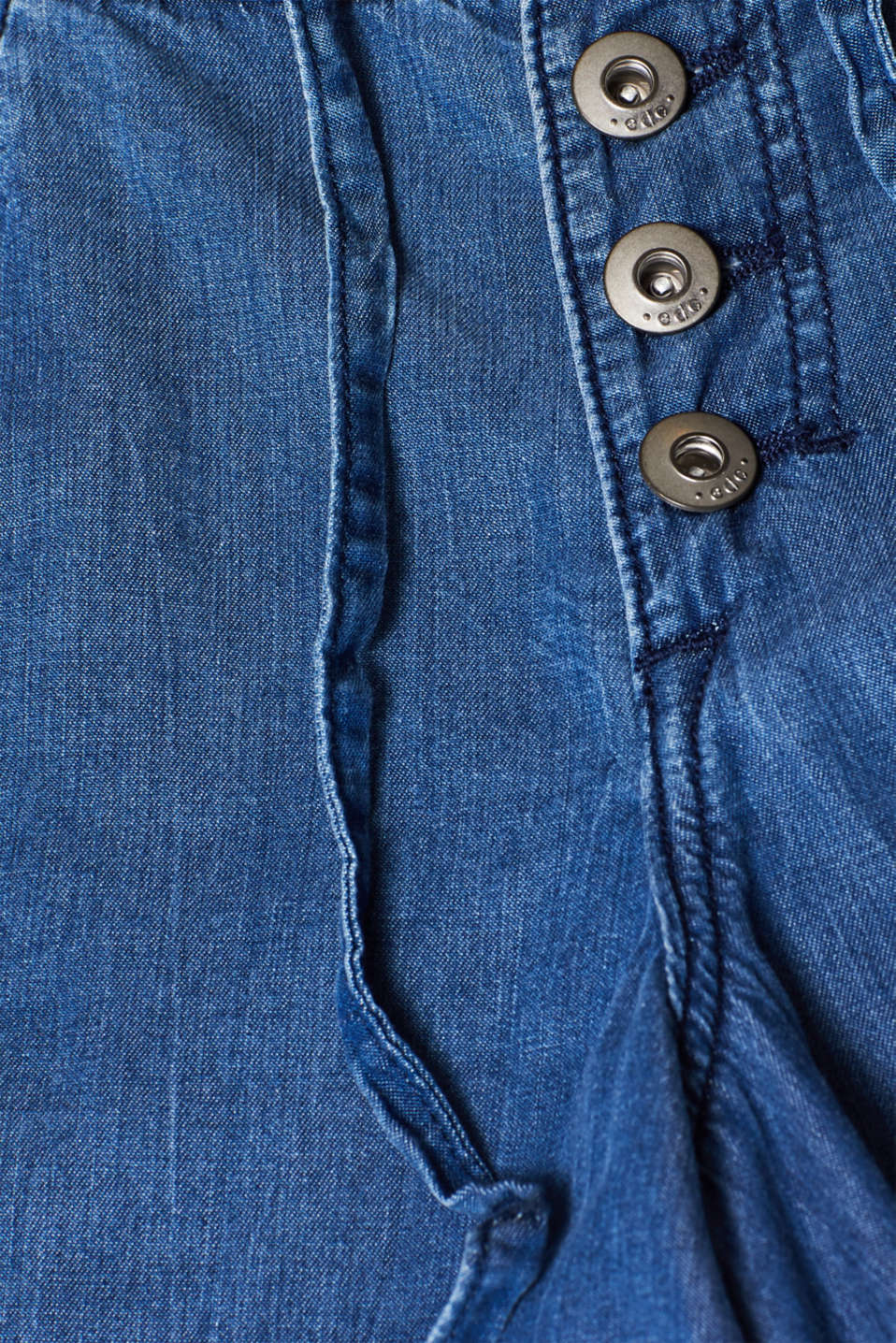 Shorts denim, BLUE MEDIUM WASH, detail image number 4