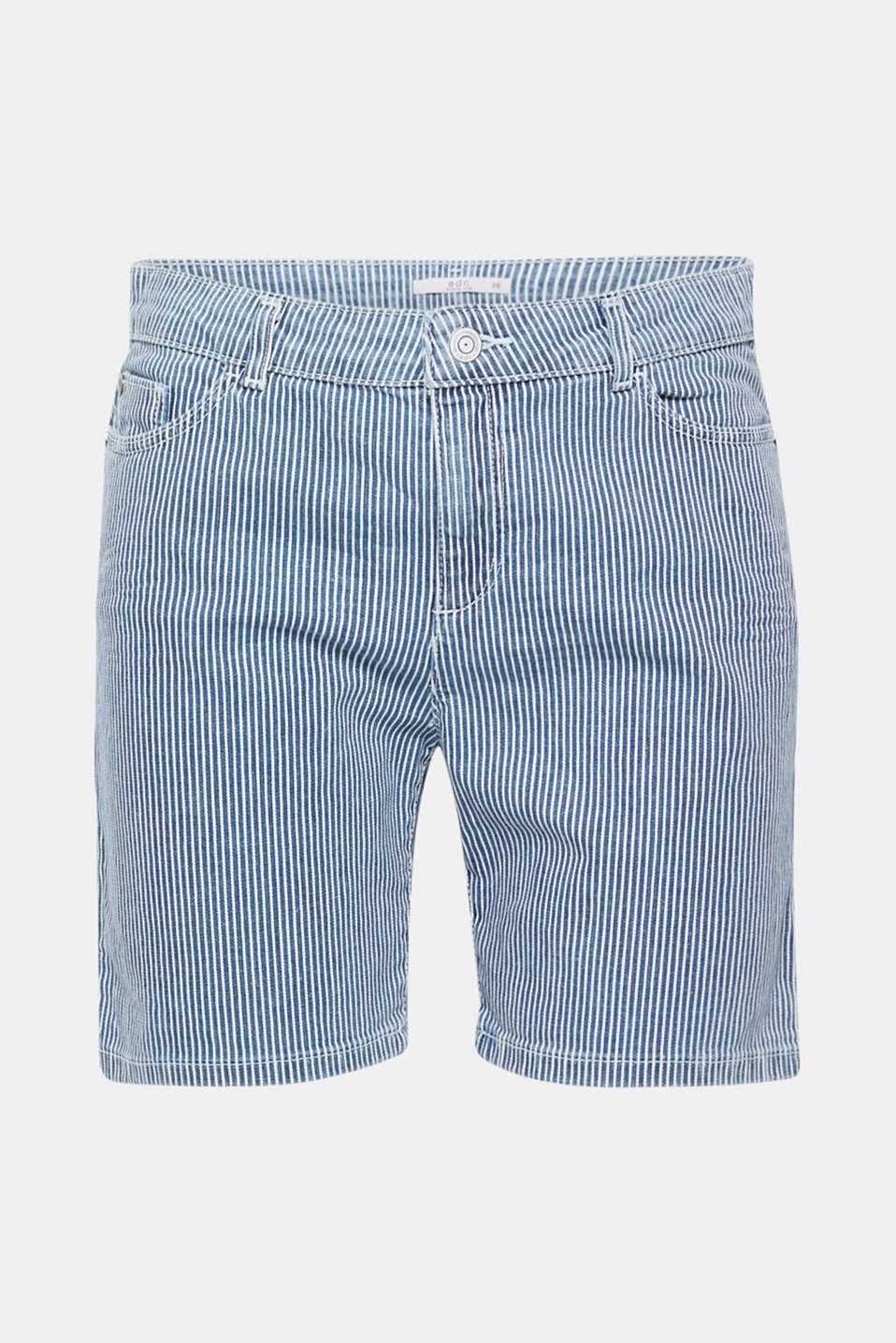 Shorts woven, GREY BLUE, detail image number 6