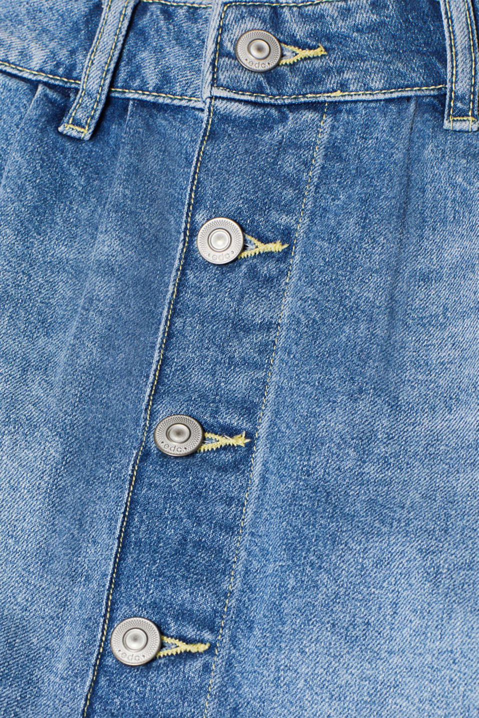 Skirts denim, BLUE MEDIUM WASH, detail image number 4
