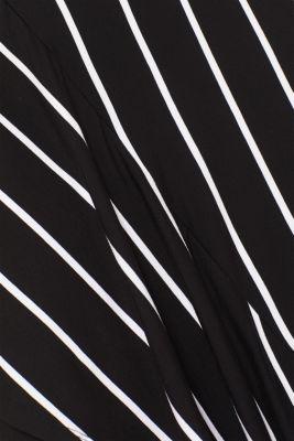 Stretch jersey skirt with an asymmetric hemline