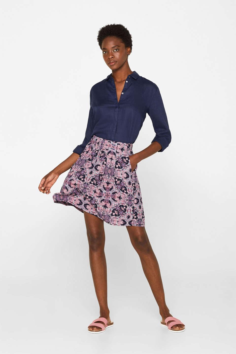 Skirts light woven, BLUE, detail image number 1
