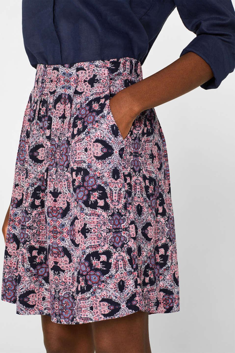 Skirts light woven, BLUE, detail image number 2