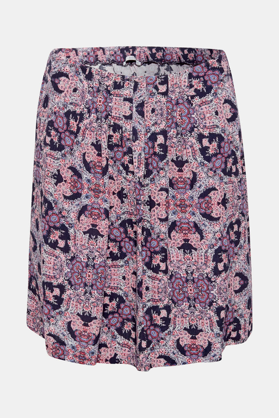 Skirts light woven, BLUE, detail image number 6