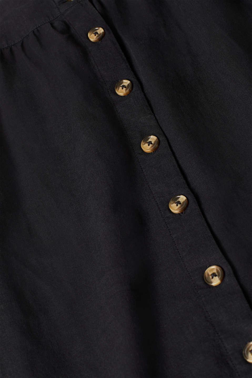 Skirts light woven, BLACK, detail image number 4