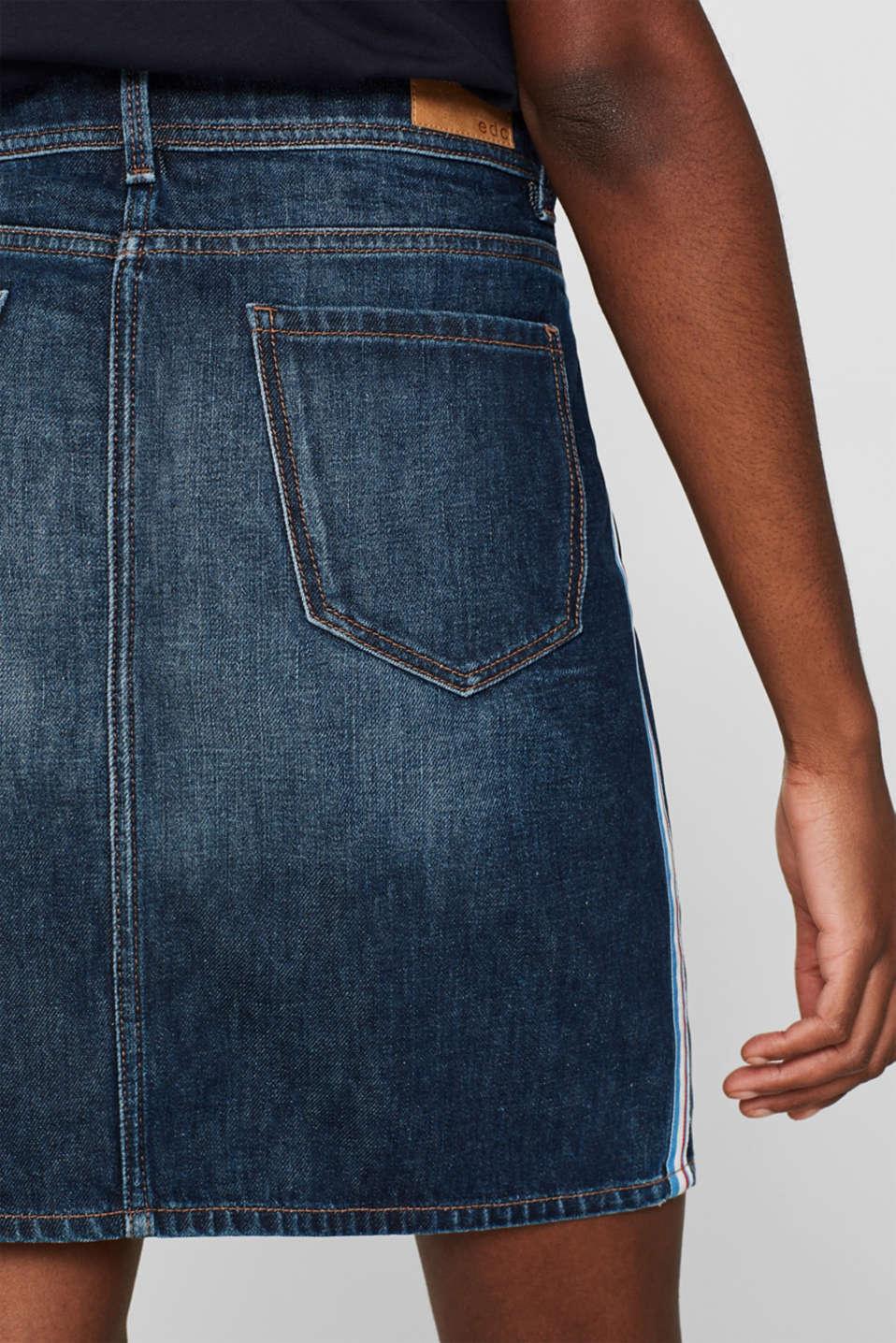 Skirts denim, BLUE MEDIUM WASH, detail image number 6