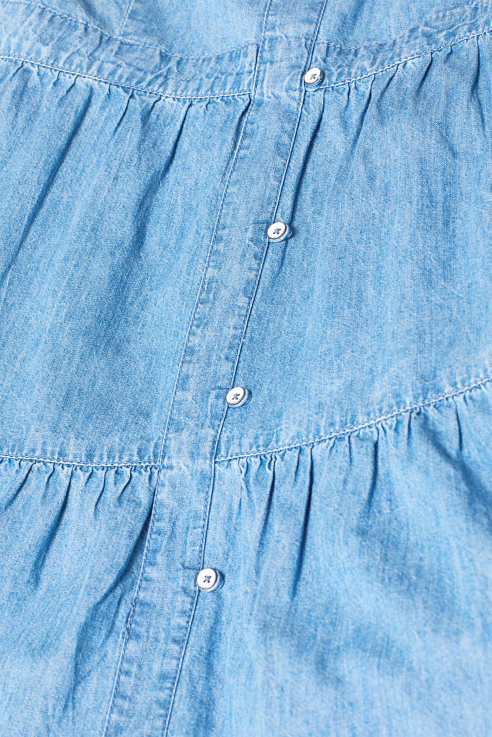 Dresses denim, BLUE LIGHT WASH, detail image number 4