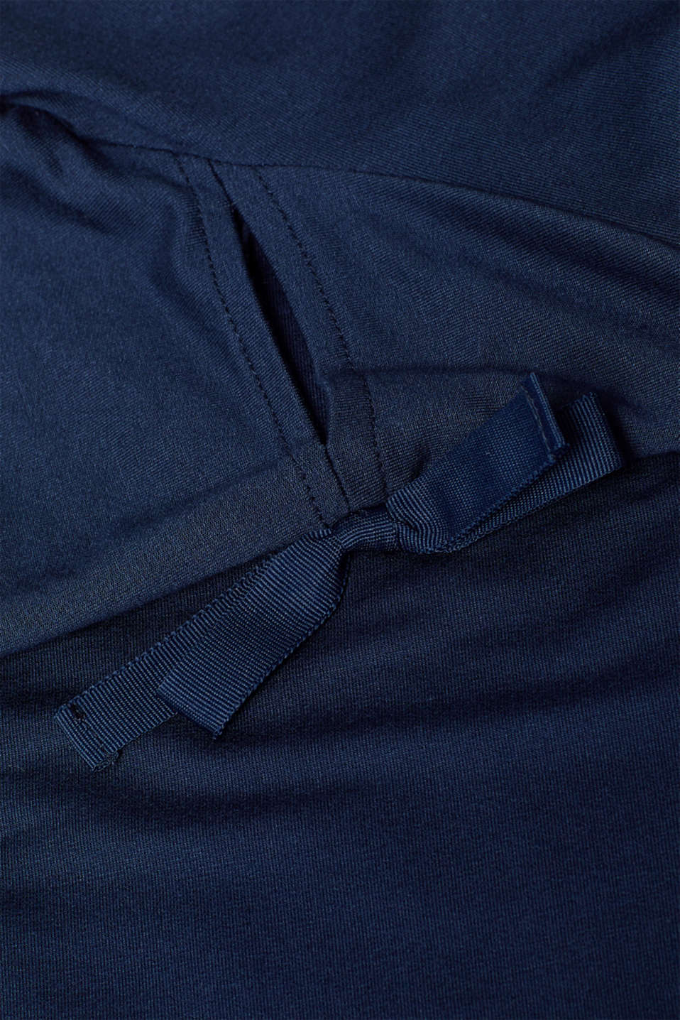 Jersey dress with knotted details, NAVY 2, detail image number 4
