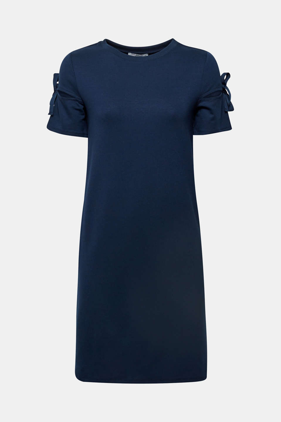 Jersey dress with knotted details, NAVY 2, detail image number 5