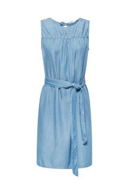 d3af2d794eee4 A-Linie-Kleid aus 100% Lyocell mit Bindegürtel59