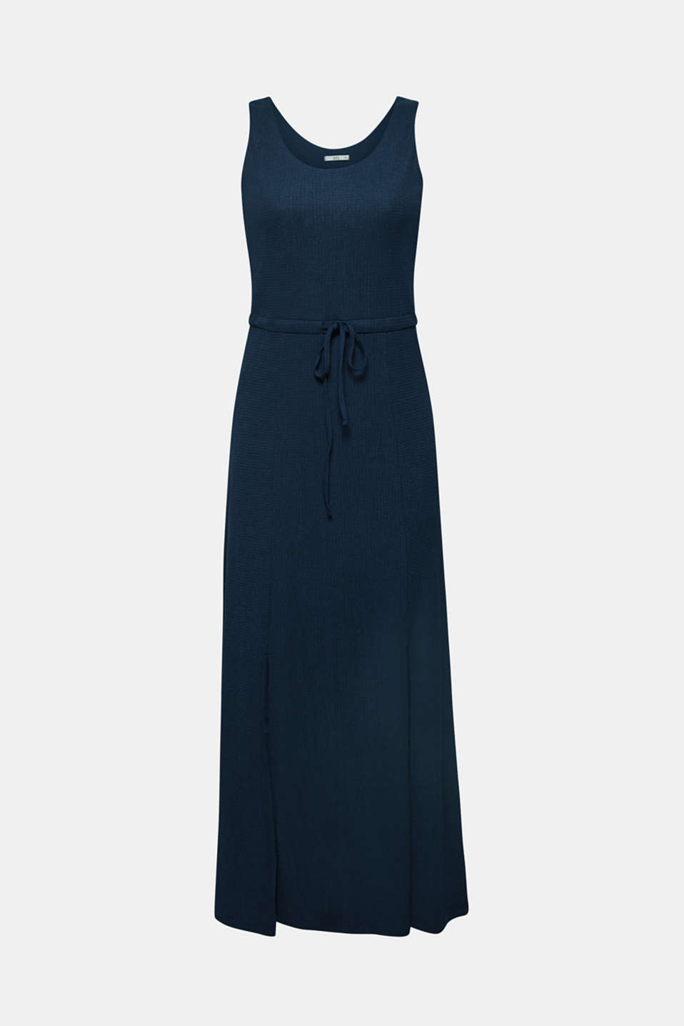 Crinkle look maxi dress, NAVY, detail image number 7