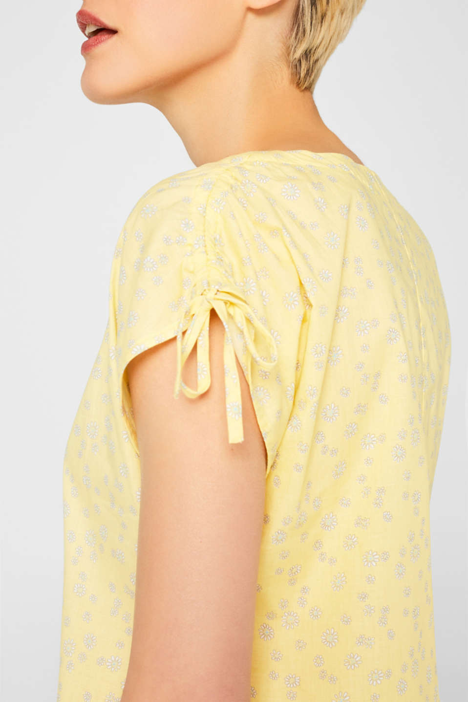 Blouses woven, LIGHT YELLOW, detail image number 2