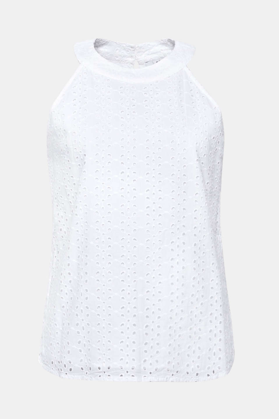 Blouses woven, WHITE, detail image number 7