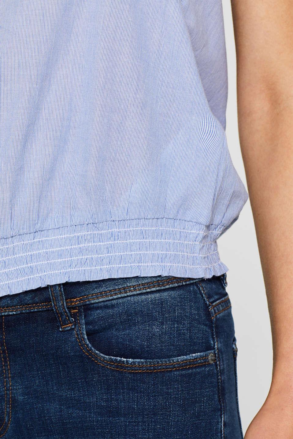 Blouses woven, LIGHT BLUE, detail image number 2