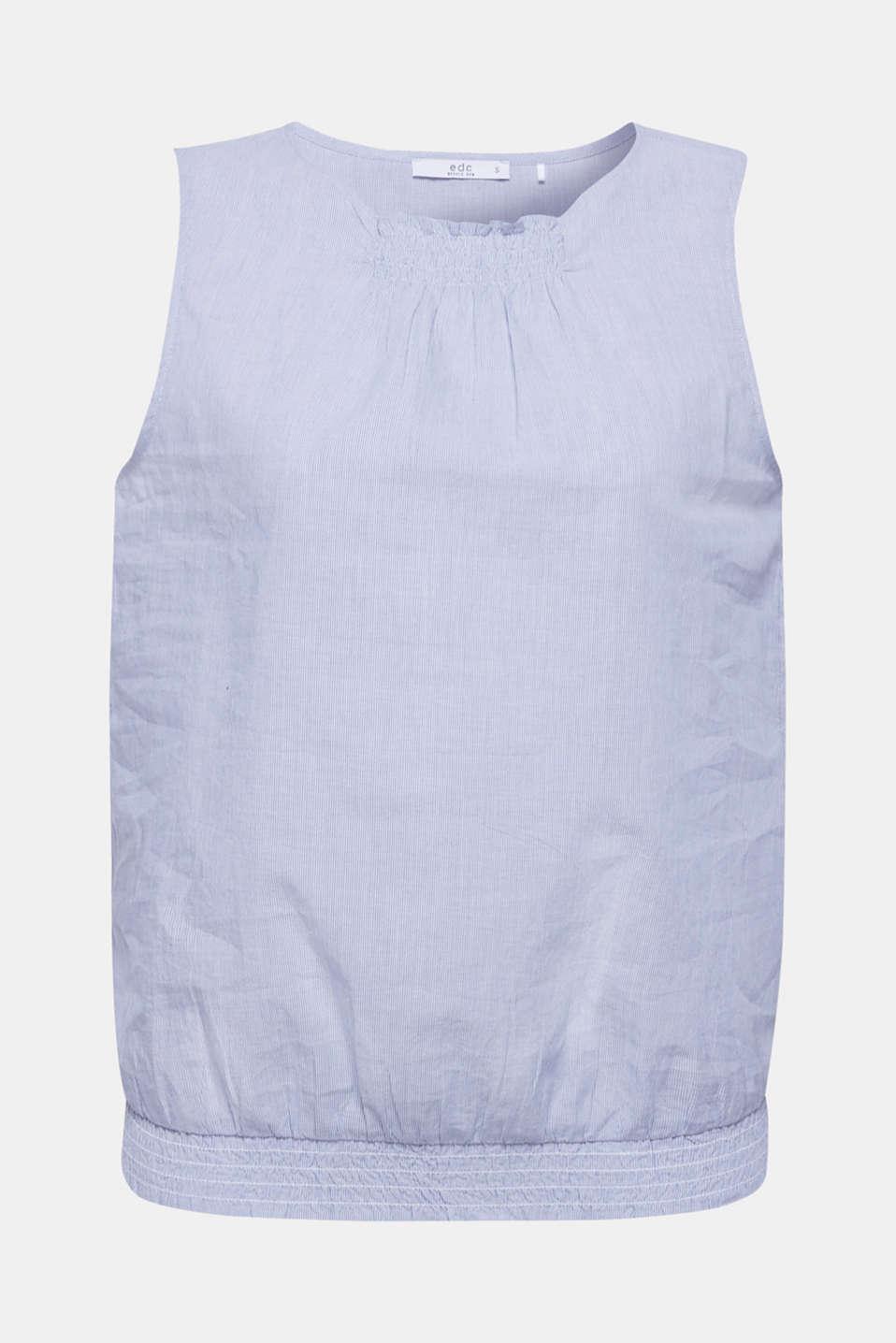 Blouses woven, LIGHT BLUE, detail image number 7