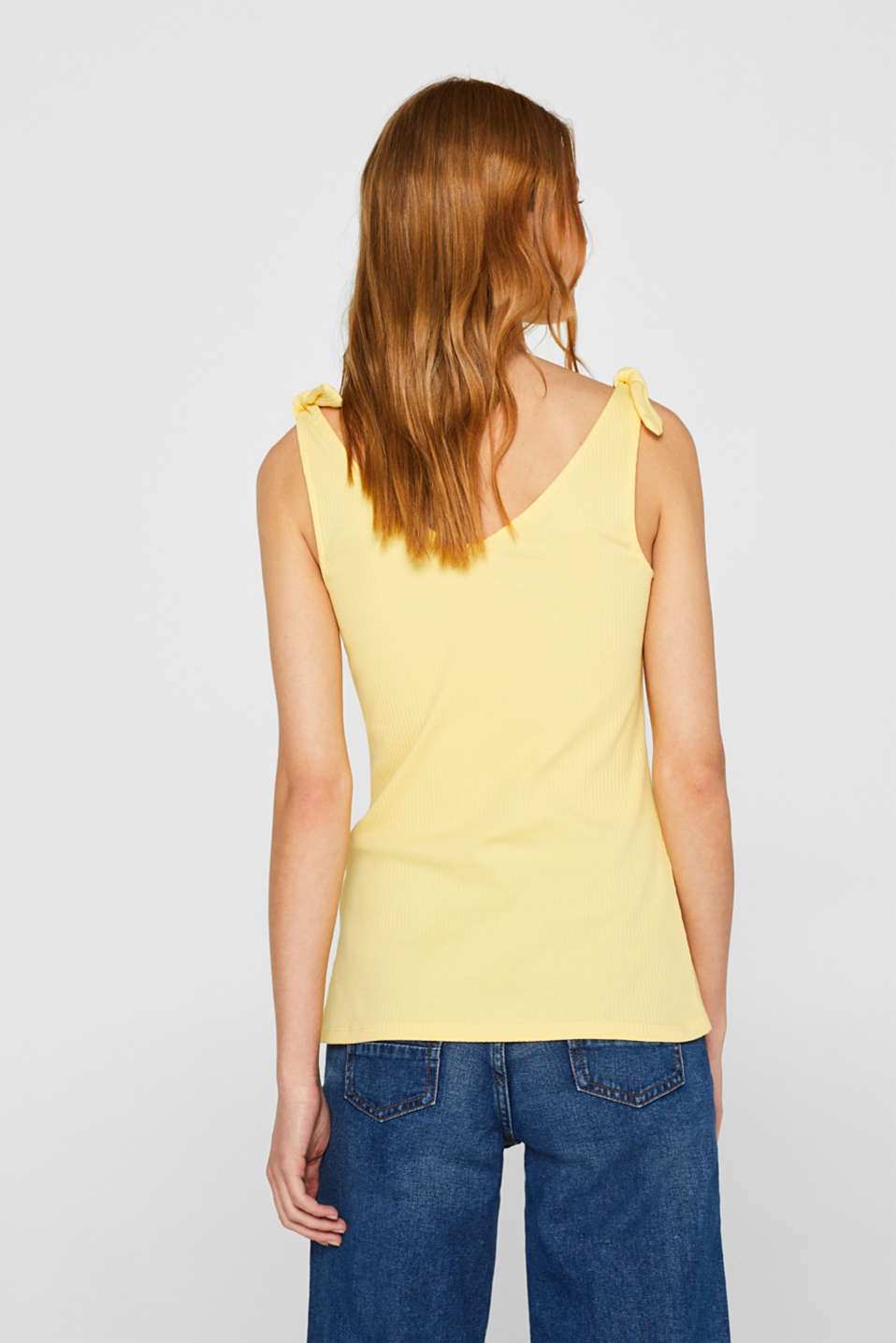 T-Shirts, LIGHT YELLOW, detail image number 2